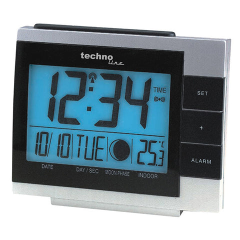 Radio Controlled Moon Phase Clock WS8055