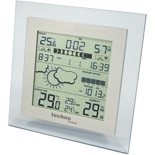 Sun / Moon Phase Desktop Weather Station WS9257