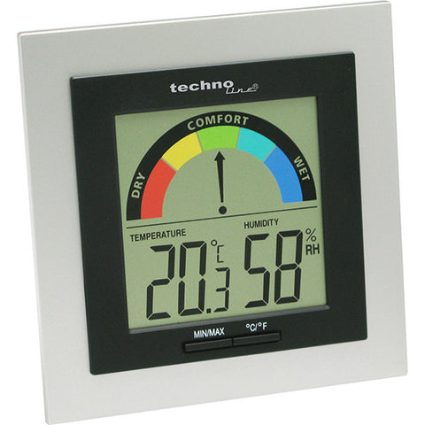 Digital Thermo-Hygrometer with Comfort Display WS9430