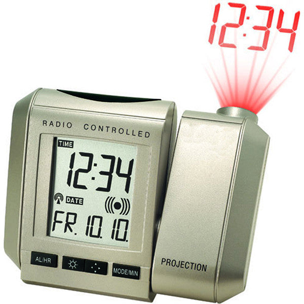 Projection Clock with Digital Thermometer WT535