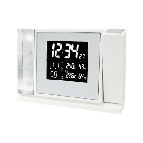 Premium Collection Weather Clock WT643
