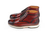 Handmade leather Sneaker for Men - code 858
