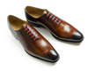 Balmoral Oxford whole cut Leather shoe - Code 845 - carinovn