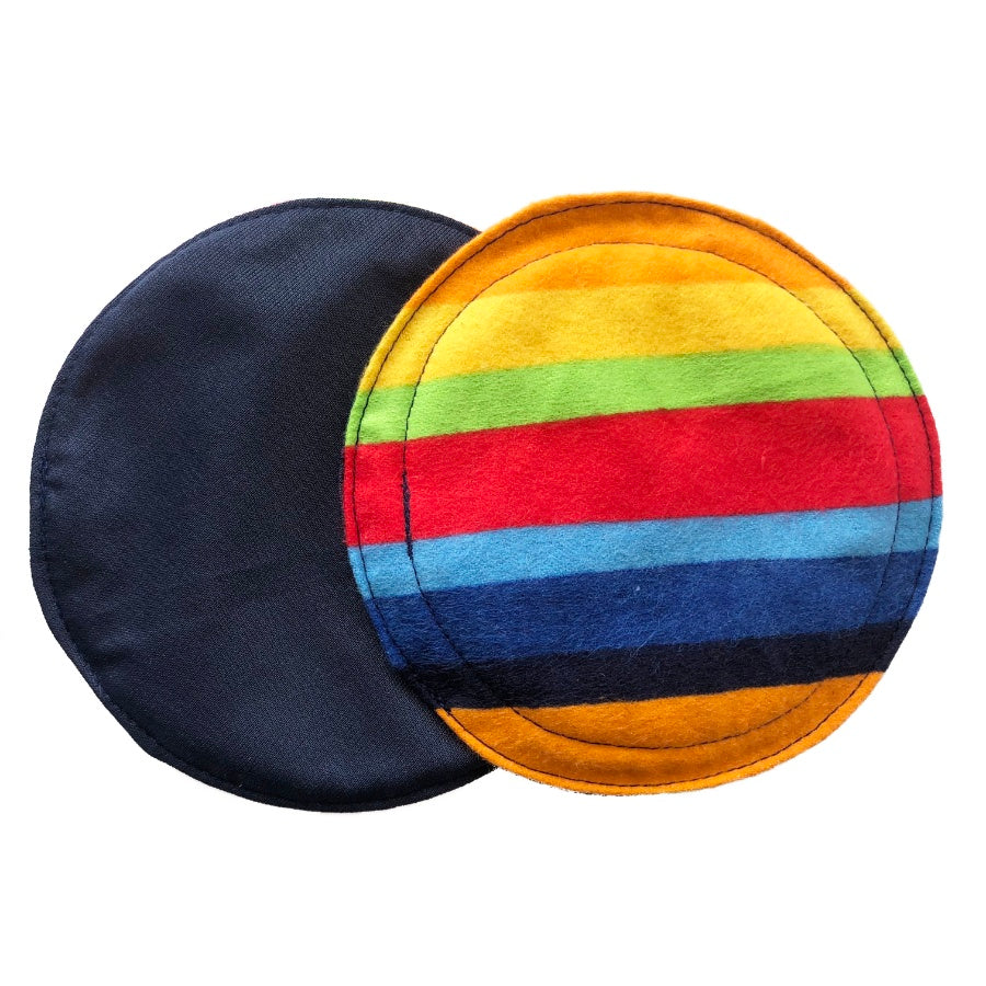 Primary Stripes Breast Pads