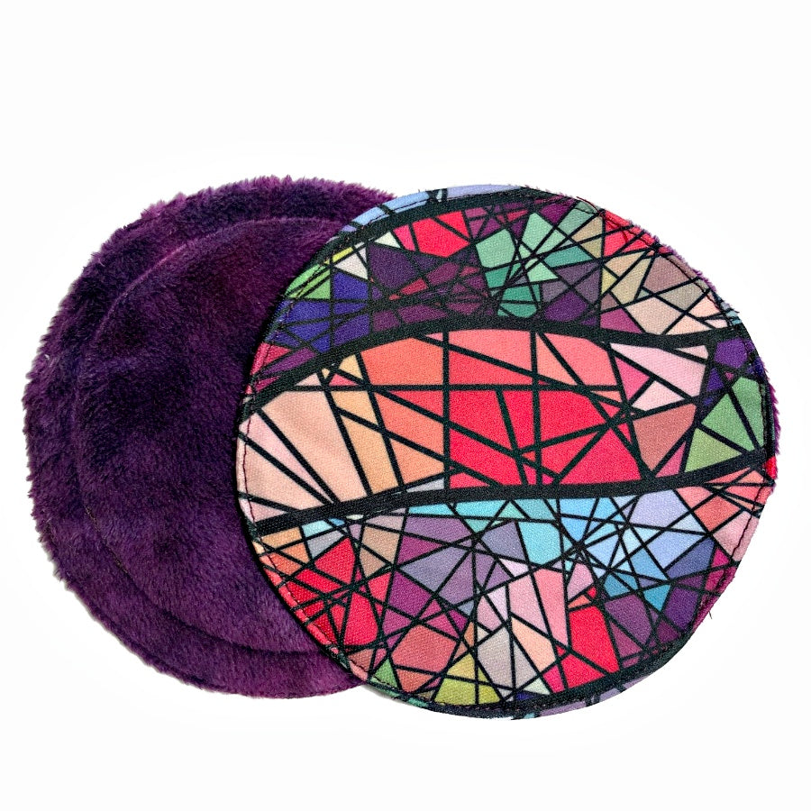 Stained Glass Breast Pads