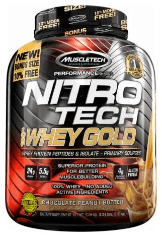 Muscle Tech Nitro Tech Whey Gold 2.51kg