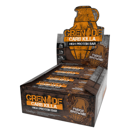 Grenade Carb Killa Bar, Fudge Brownie