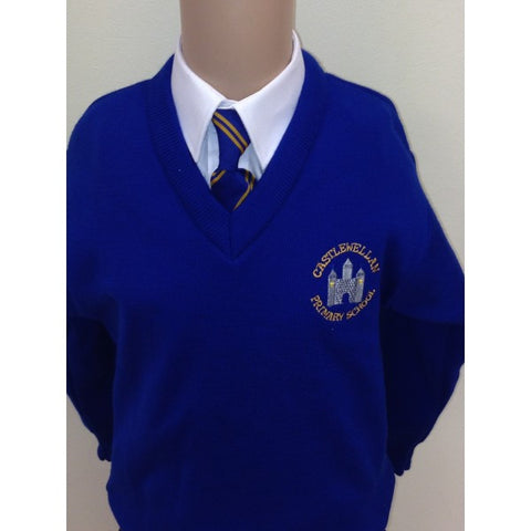 Castlewellan Primary School V-Neck Sweatshirt