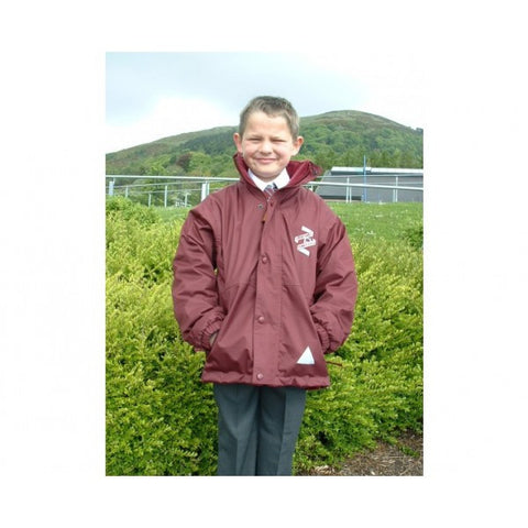 Cavehill Primary School Deluxe Reversible Fleece Jacket