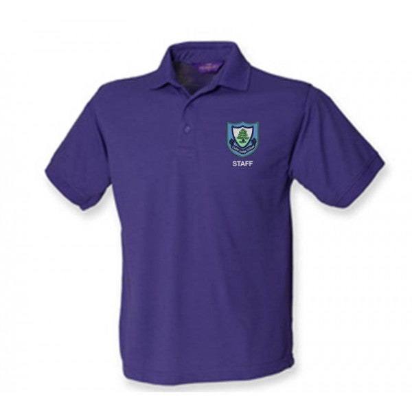 Cedar Lodge Staff Mens Polo Shirt