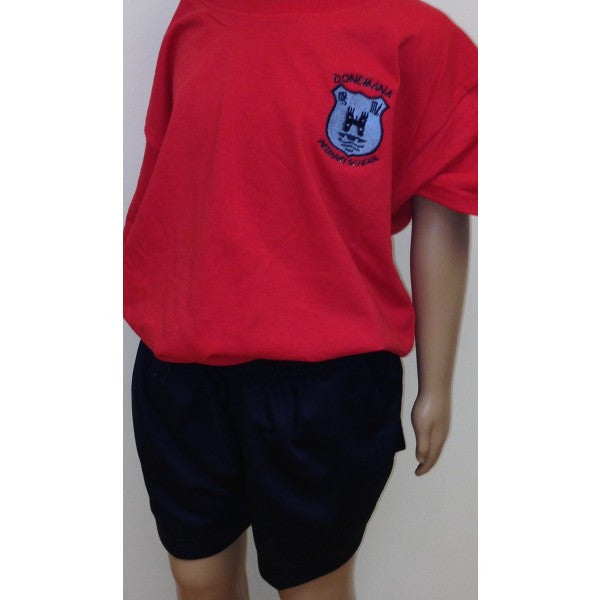 Donemana Primary School P.E T-Shirt - Red
