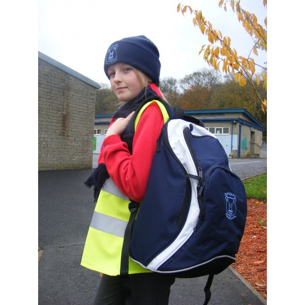 Donemana Primary School Ultimate Back Pack (Navy/White)