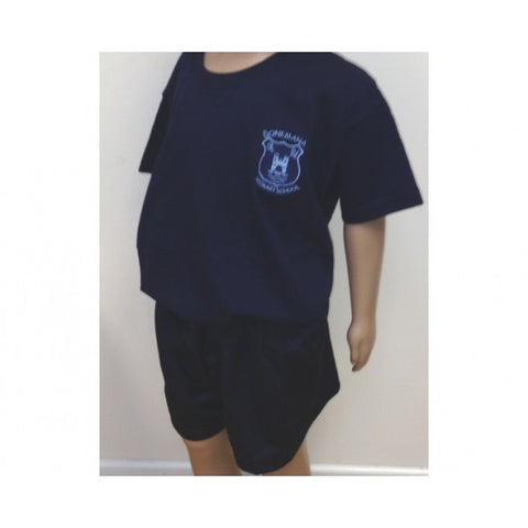 Donemana Primary School P.E Tee-Shirt - Navy