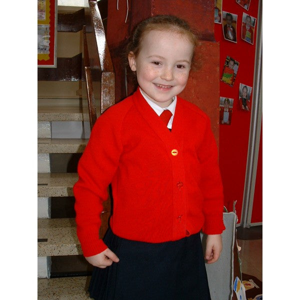 Holy Cross Girls Primary School Knitted Cardigan