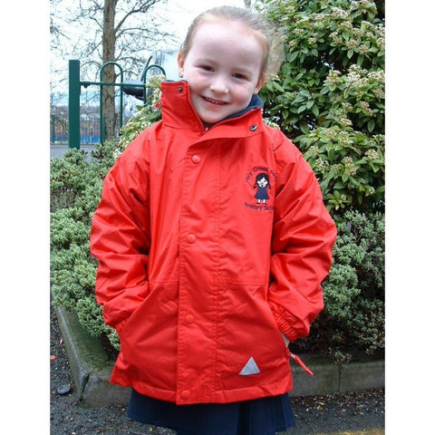 Holy Cross Girls Primary School Reversible Fleece Jacket