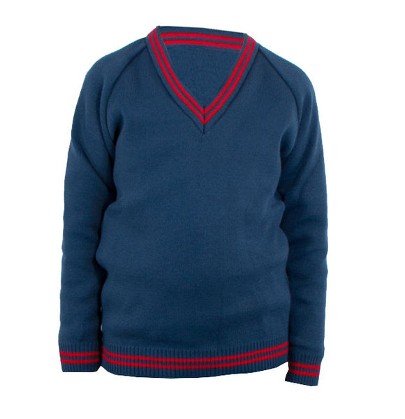 Hunterhouse College V-Neck Jumper