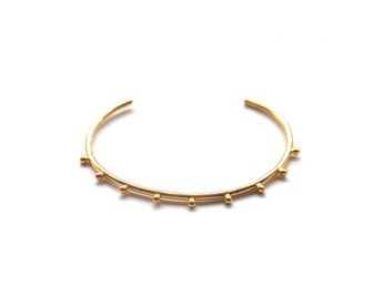 18k Gold Vermeil Bundi Bangle