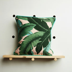 Pink Palm Cushion Cover by Desertland Wares, Hi Cacti, Brighton