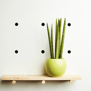 Round Ceramic Plant Pot | Apple Green