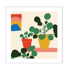 'Pilea' Wall Art by HelloMarine