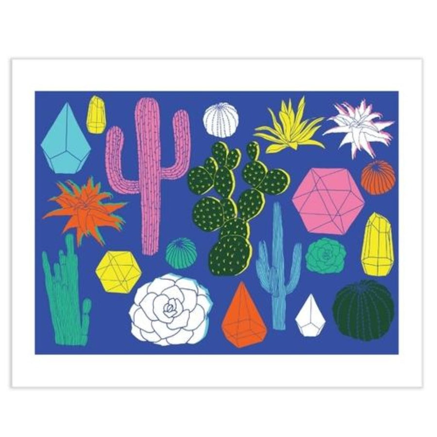 'Cactus' Wall Art by HelloMarine