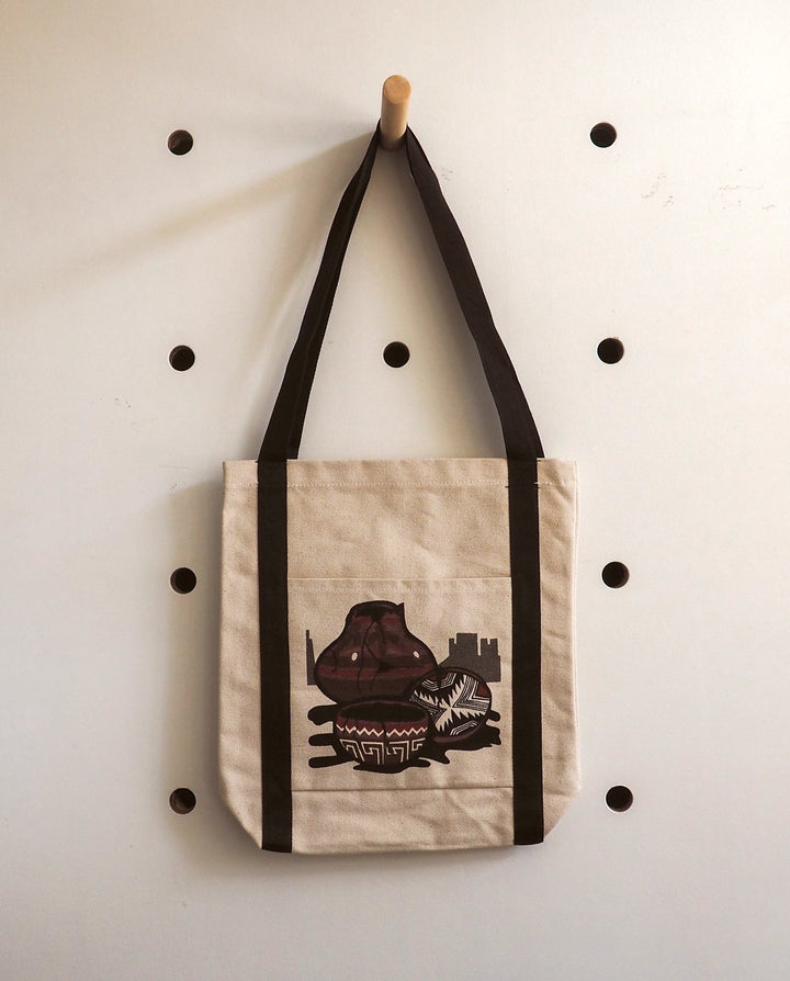 Native American Pottery Canvas Tote Bag