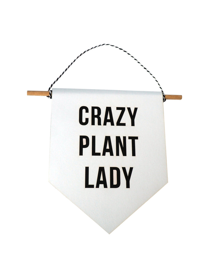 Crazy Plant Lady Flag Gift by Hi Cacti