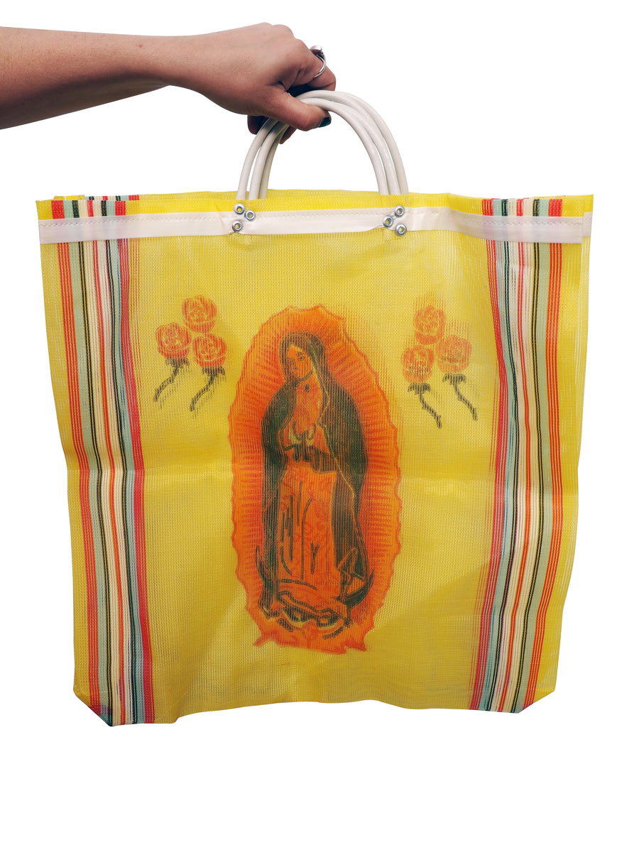 Mexican Shopping Bag Virgin Mary