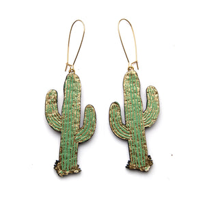 Cactus Earrings by Rosita Bonita