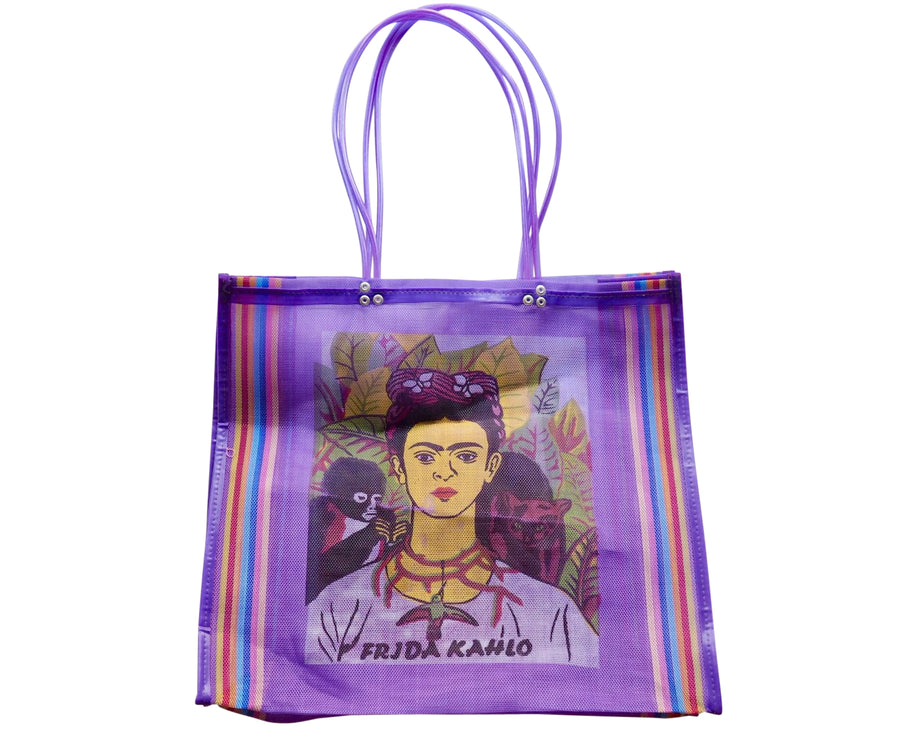 Frida Kahlo Mexican Shopping Bag