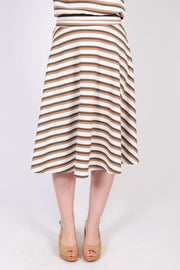 Textured Full Skirt