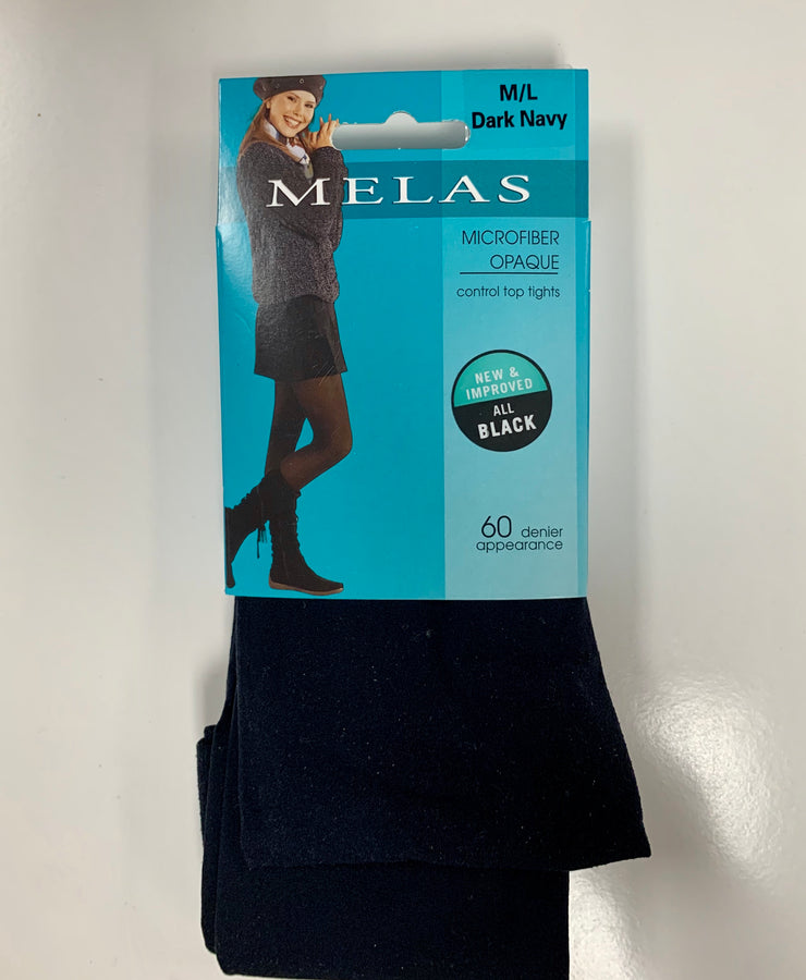 Melas Opaque Tights Navy