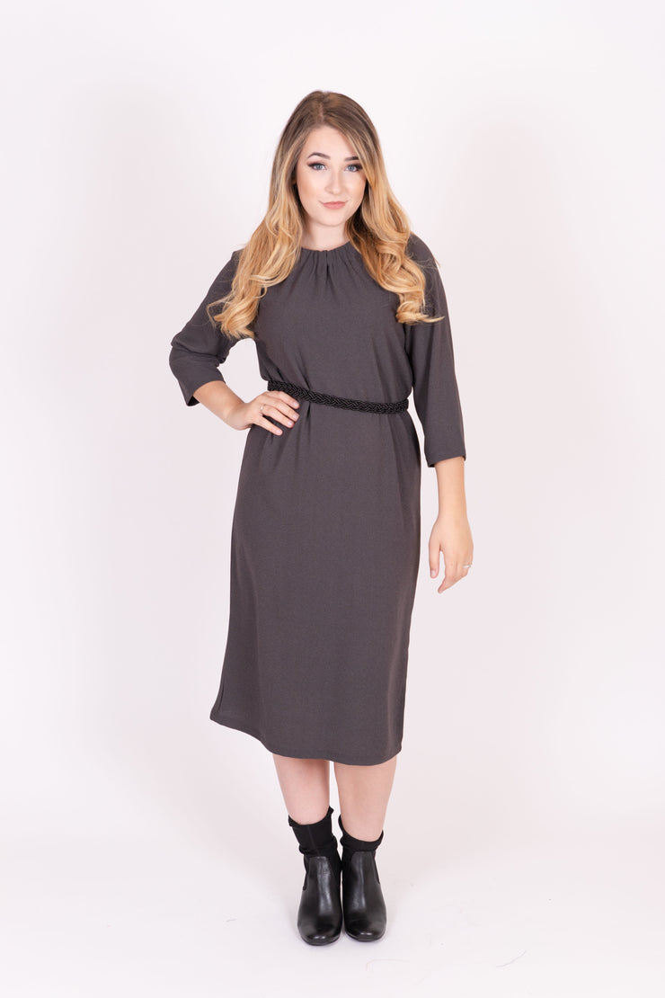 KMW Tie Neck Dress