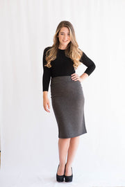 KMW Cotton Pencil Skirt