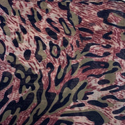 Tashtari Animal Print Scarf