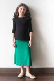 Girls flare skirt