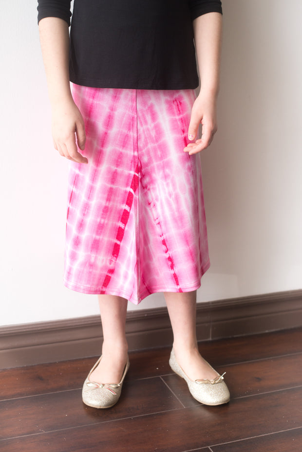 Girls Tye Dye Flare Skirt