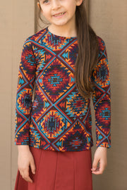Patterned Kids Top
