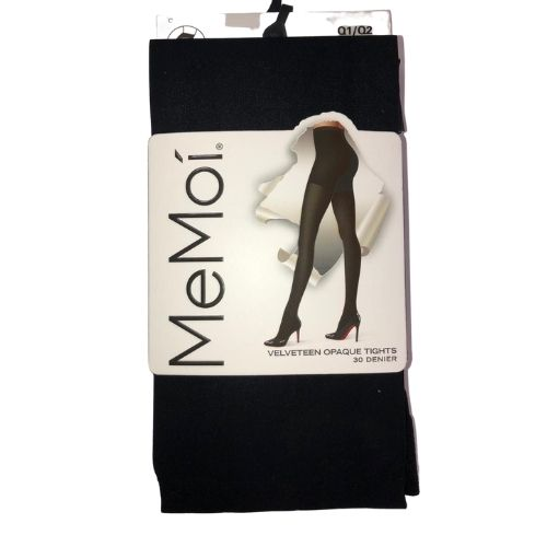 MeMoi Velveteen Opaque Tights