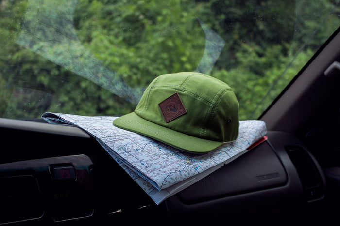 Snappies Green Hemp Hat