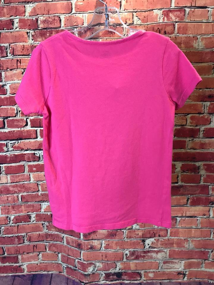 Girls Size 5 Girls Pink Mini Boden Top - AdorableOnline