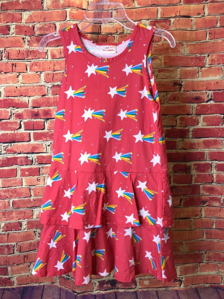 Girls Size 8 Girls Red Hanna Andersson Dress - AdorableOnline