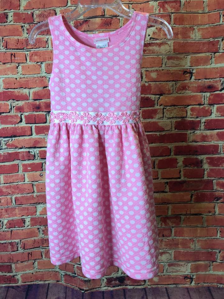 Girls Size 4T Girls Pink Youngland Dress - AdorableOnline