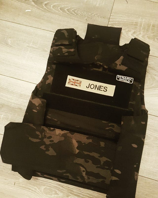 Tiger Shark Camo Black 10kg Dynamic Shield Mk 1