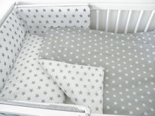 Load image into Gallery viewer, 5 Piece Baby Nursery Cot Bedding Set Duvet Bumper Pillow - babycomfort.co.uk