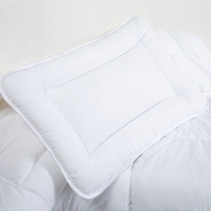 Anti-Allergy Nursery Cot Pillow Filling 60 x 40 cm for Baby Toddler - babycomfort.co.uk