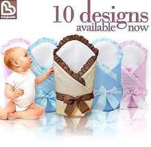 Load image into Gallery viewer, Baby Swaddling / Infant Swaddle Wrap / Newborn Cotton Blanket / Quilt - Plain - babycomfort.co.uk