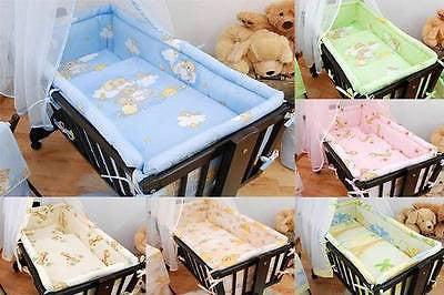 Large Padded Crib Bumper 260cm Long To Fit Regular Crib / Cradle 90x40 cm - babycomfort.co.uk