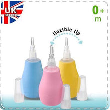 Load image into Gallery viewer, BABY ONO BABY NOSE CLEANER NASAL ASPIRATOR CLEARER BULB - babycomfort.co.uk