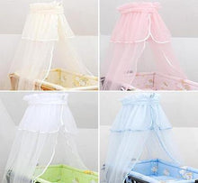 Load image into Gallery viewer, Crown Canopy / Drape / Mosquito Net To Fit Crib / Cradle / Moses Basket - babycomfort.co.uk